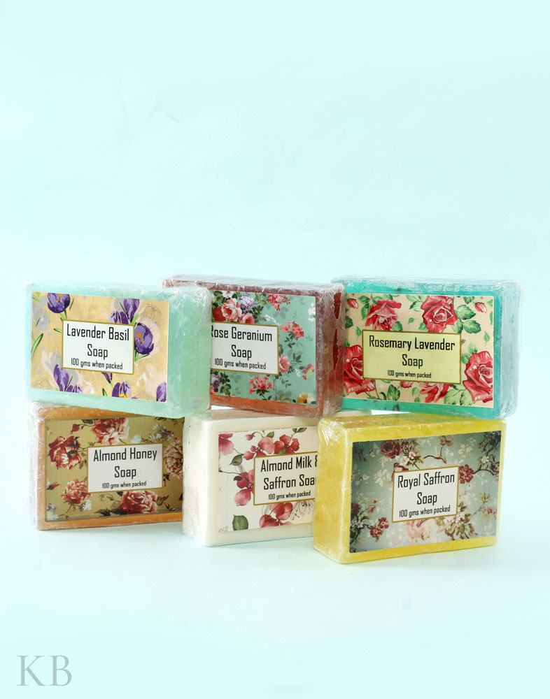 SC Assorted Handmade Soaps