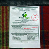 Green Apple Single Bed Premium Electric Blanket