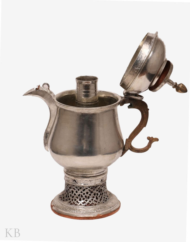 Plain Tinned Copper Kashur Samovar