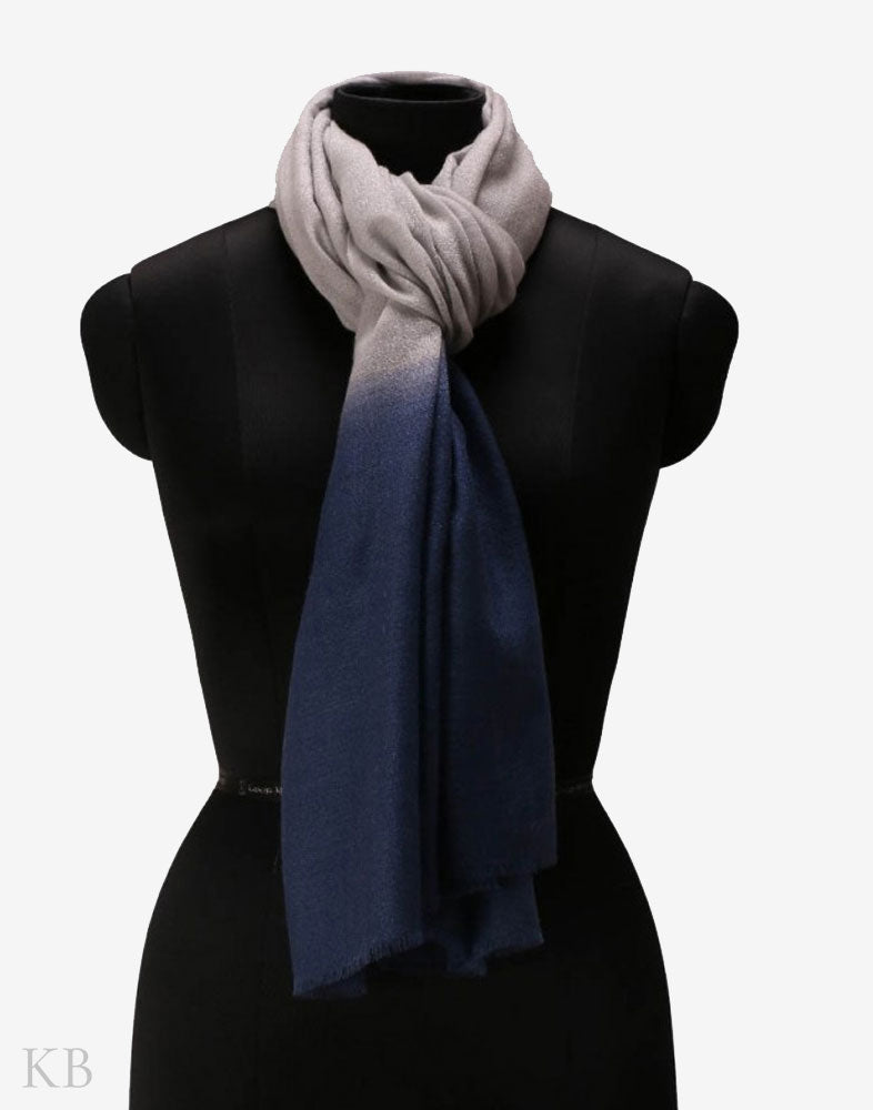 Gray Berry Pure Pashmina Stole