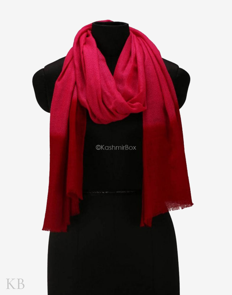 Red Ruby Pure Pashmina Stole
