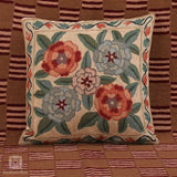 Floral Bouquet Handmade Cushion Cover (Set of 3)