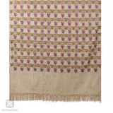 Creme Pamposh Papier Mache Pashmina Towel Shawl