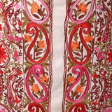 Daisy White Bright Paisley Aari Embroidered Suit