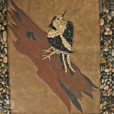 Perched Bird Stone Art Painting