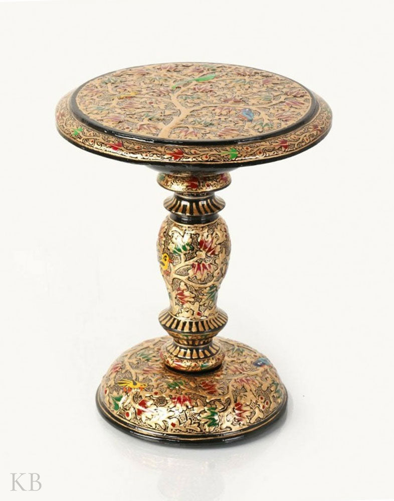 Tree Of Life Paper Mache Miniature Table