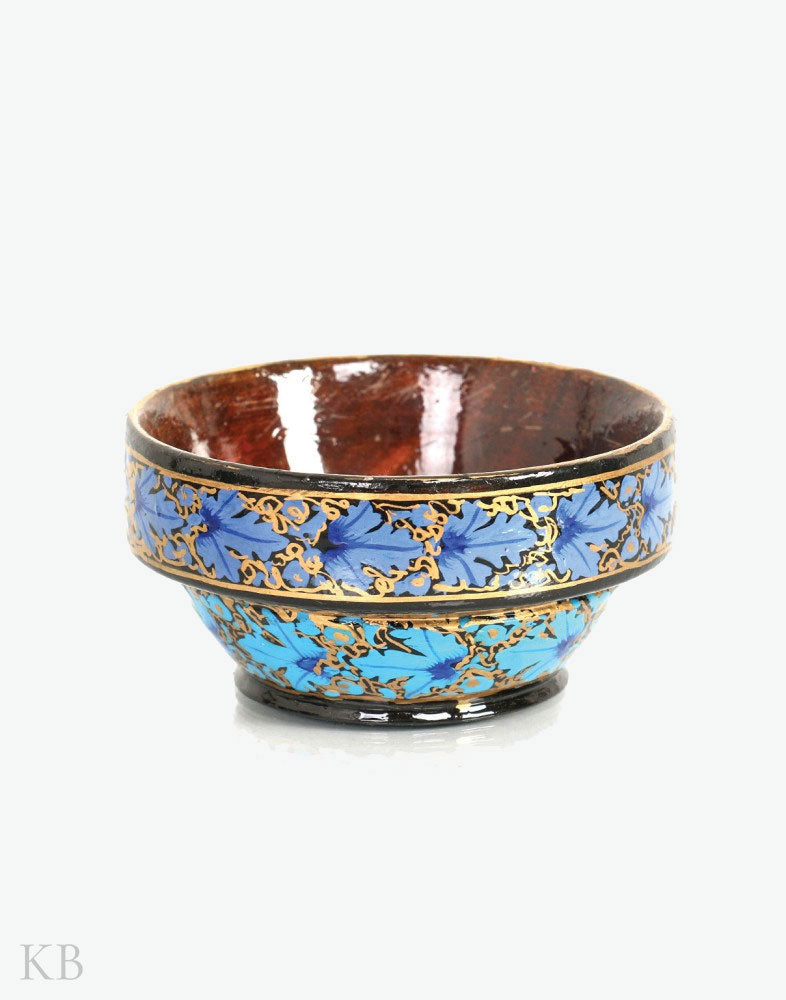 Walnut Wood Paper Mache Bowl (Set of 6)