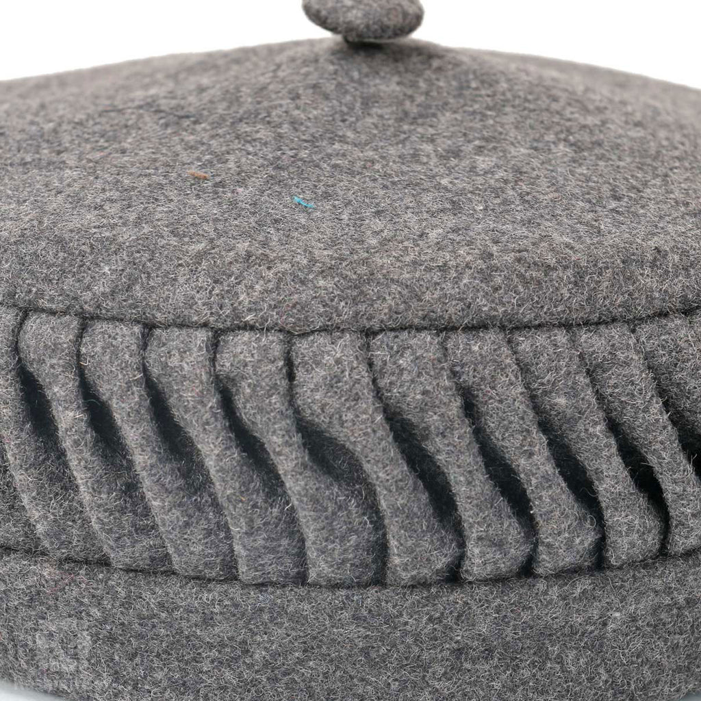 Lead Grey Woolen Cap