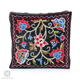 Mushk Crewel Hand Embroidered Cushion Cover