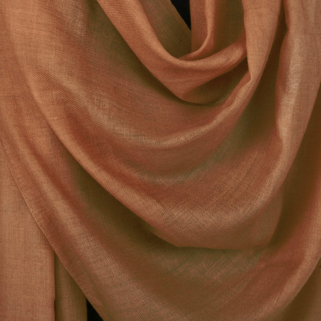 Earthy Brown Woolen Shawl