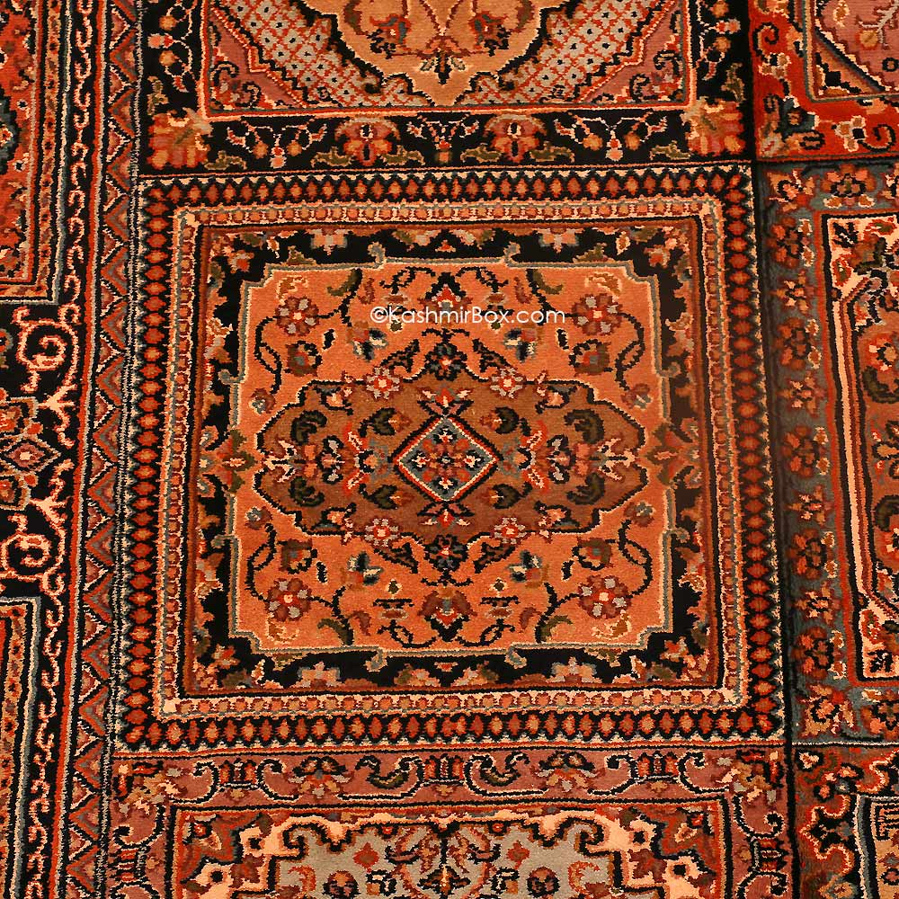 Crimson Silk Carpet