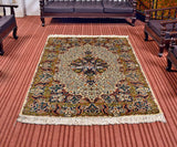Sycamore Delight Silk Carpet - Kashmir Box