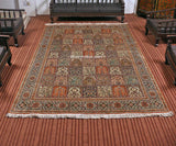 Pastel Royal Taj Silk Cotton Carpet