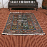 Box White Dabdar STP Carpet | Kashmir Box