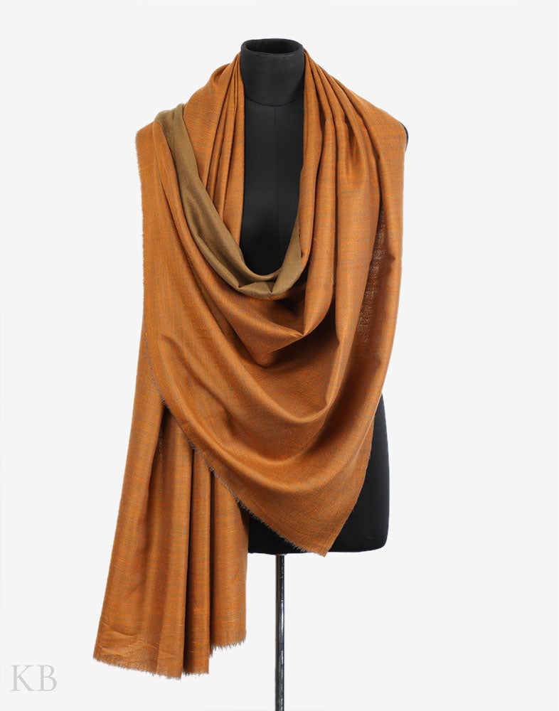 0d3647a1c Shades Of Golden Reversible Cashmere Pashmina Shawl ...