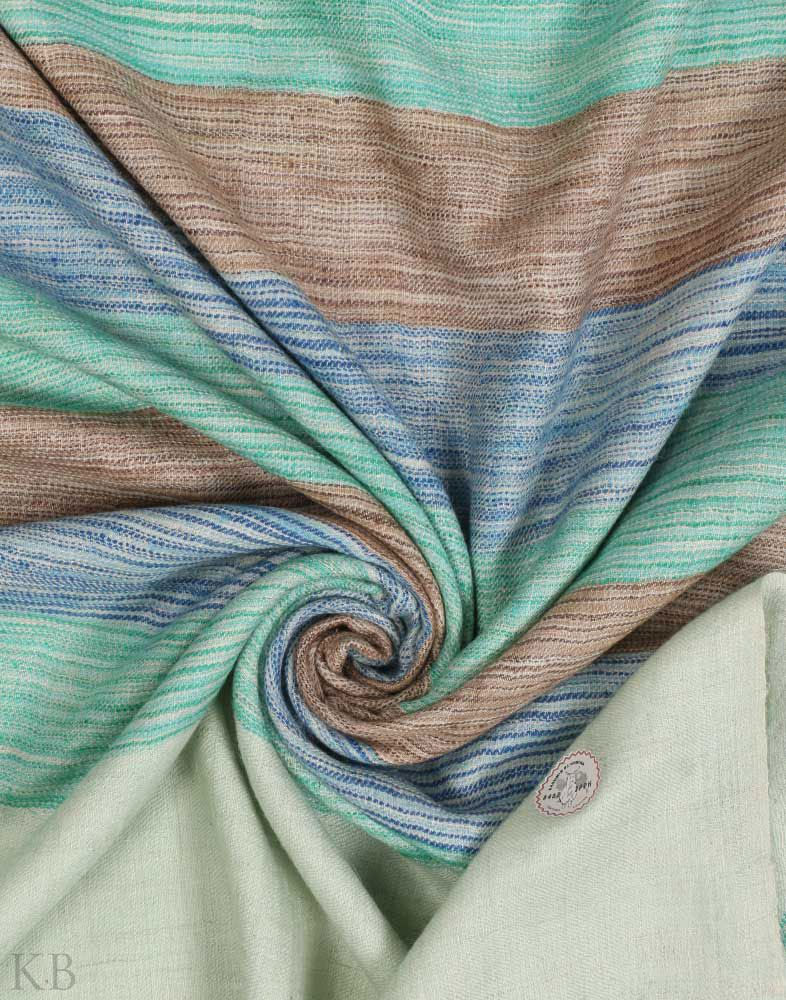 GI Certified Shades Of Nature Cashmere Pashmina Stole