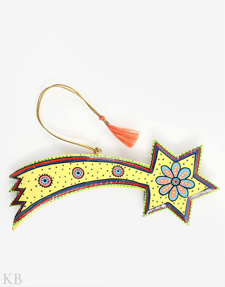 The Magic Wand Paper Mache Hanging (Set of 2) - Kashmir Box