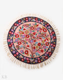 Tree Of Life Silk Chainstitch Rug