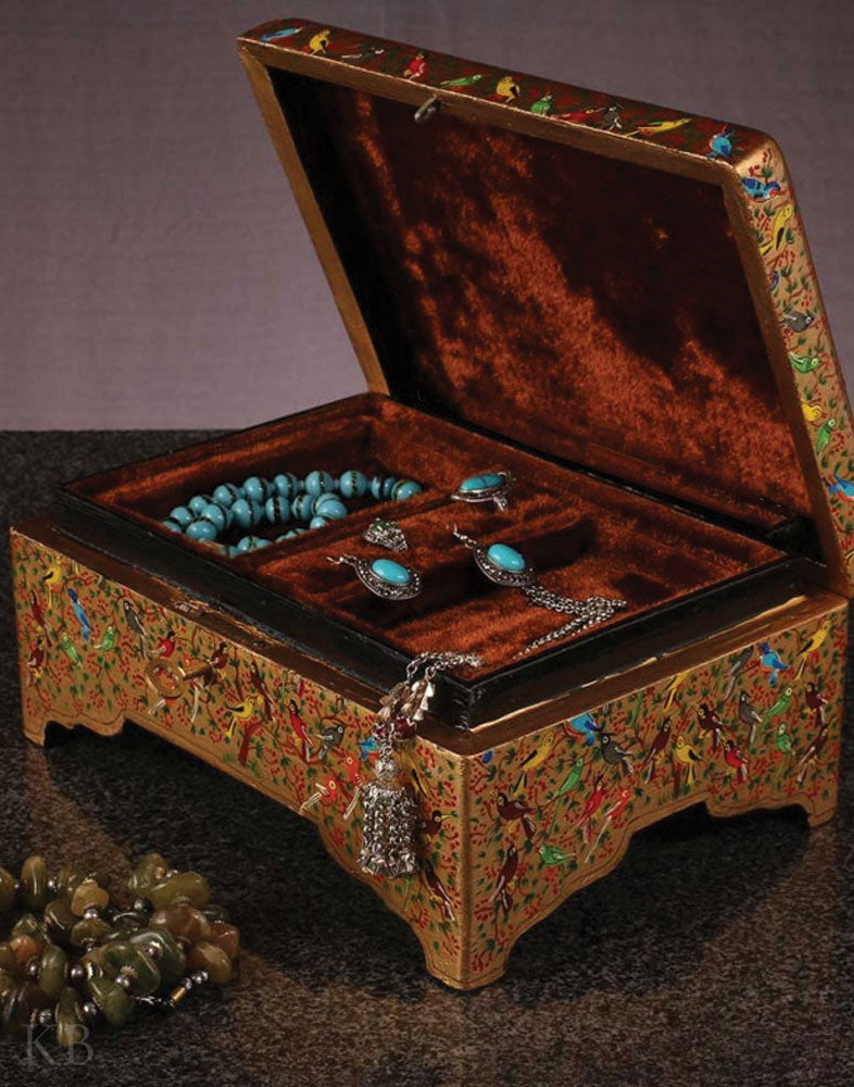 Color Bird Jewelry Box