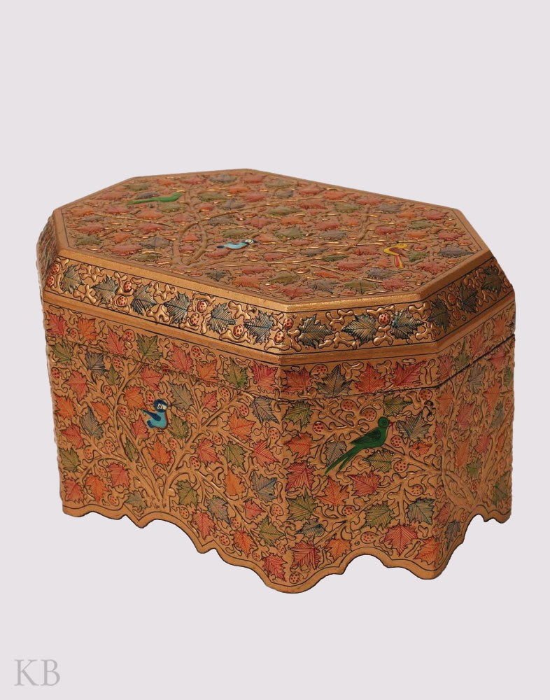 Chinar Embossed Jewelry Box