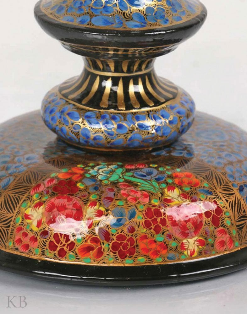 Blue Hazara Paper Mache Low Table
