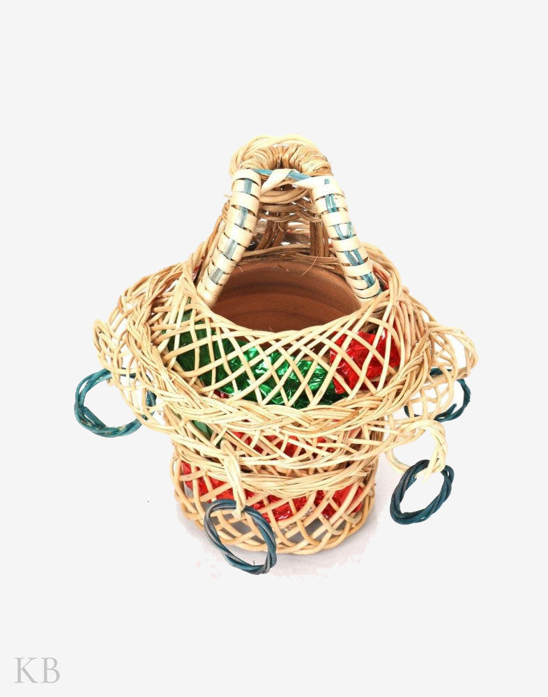 Small Decorative Willow Kashmiri Kangri - Kashmir Box