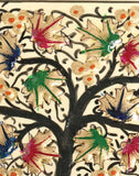 Cream White Chinar Motif Handmade Paper Mache Gift Box - Kashmir Box