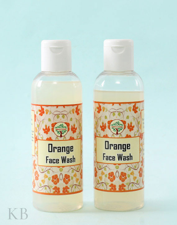 SC Orange Face Wash (Pair) - Kashmir Box