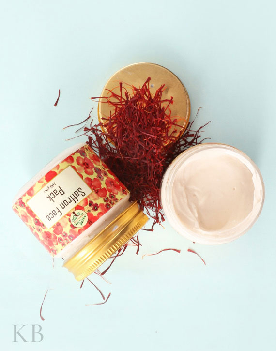 SC Saffron Face Pack (Pair) - Kashmir Box