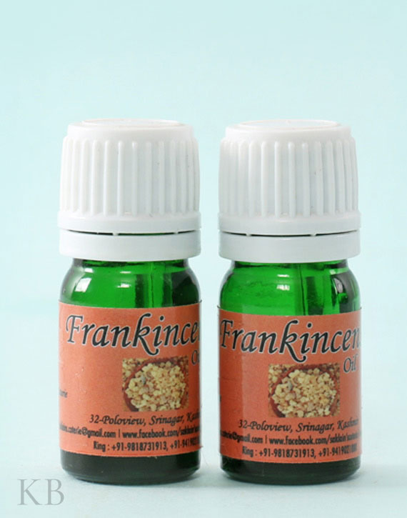 SC Frankincense Oil (Pair) - Kashmir Box