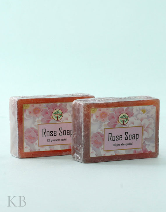 SC Rose Soap (Pair)