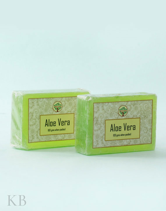 SC Aloe Vera Soap (Pair) - Kashmir Box
