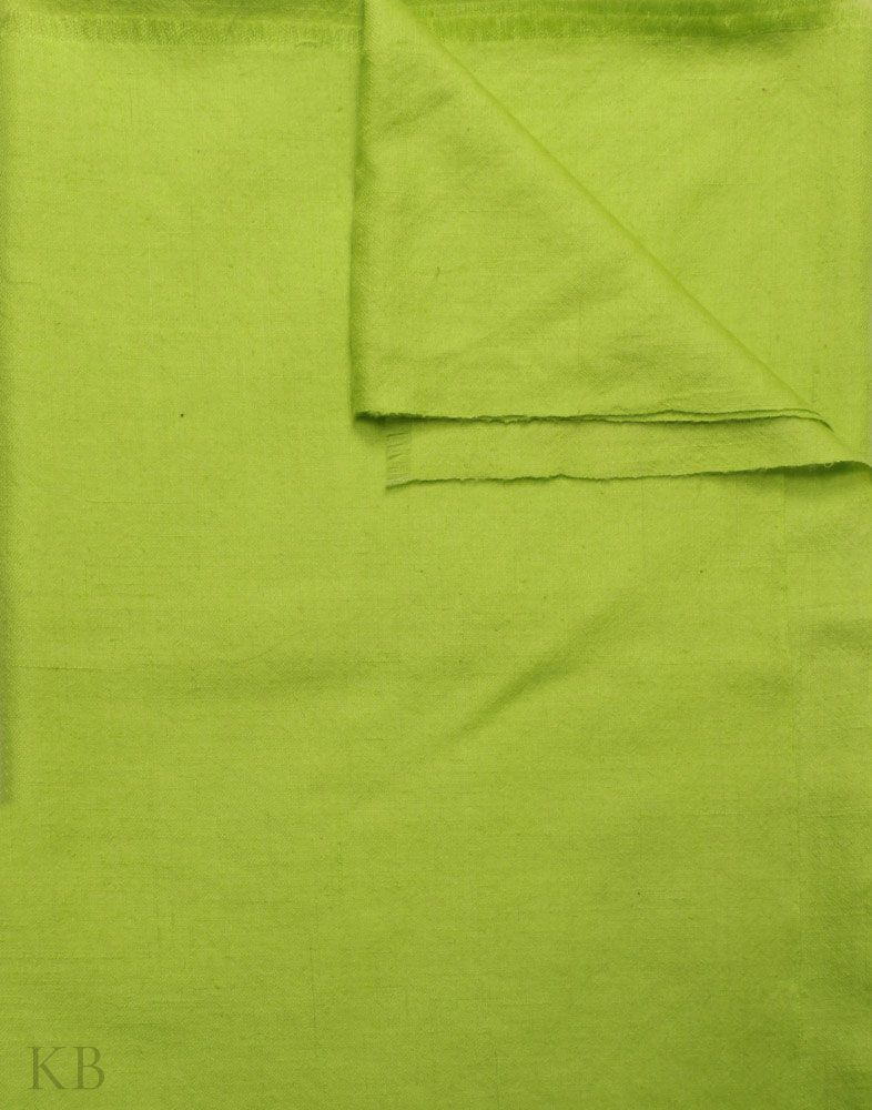 Lime Green Plain Cashmere Pashmina Shawl