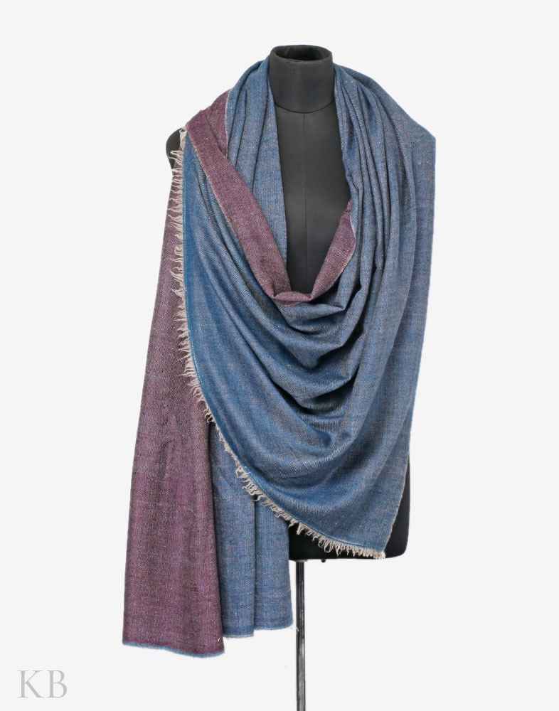 Two Shades Do Rukha Cashmere Pashmina Shawl