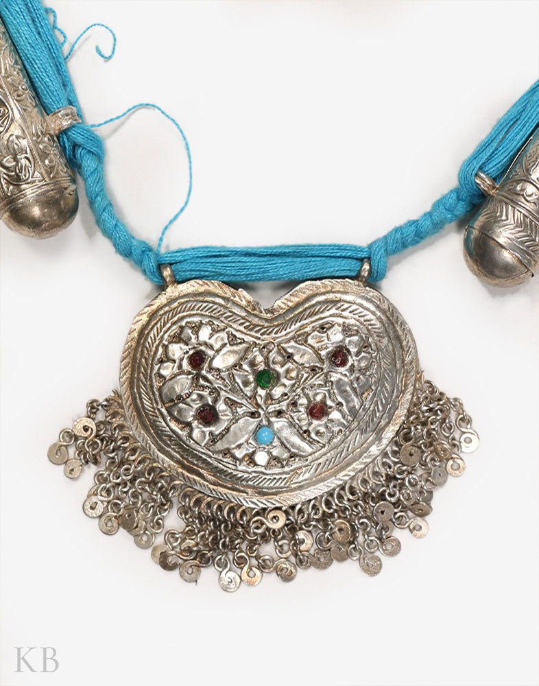 Kashmiri Silver Dolna Necklace - Kashmir Box