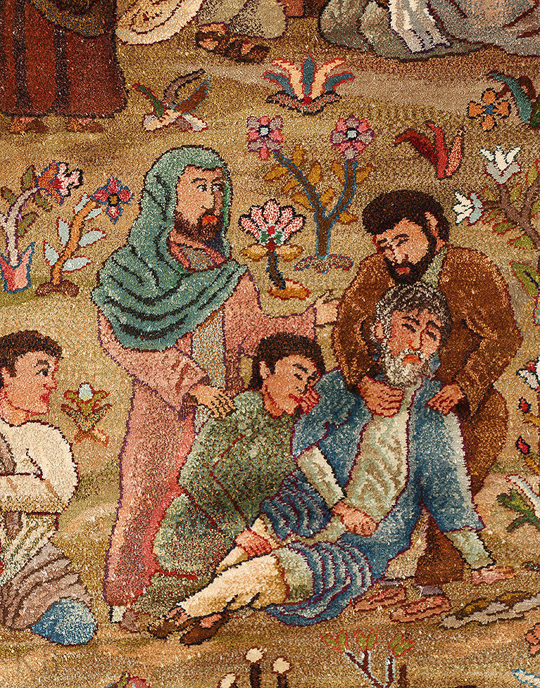 The Tale of Brothers Silk Carpet