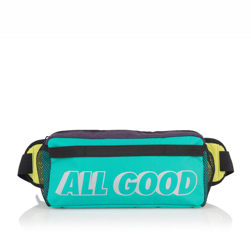 ALL GOOD  WALKABOUT HIP BAG - GREEN