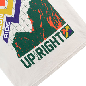 UP/RIGHT T-SHIRT - IVORY