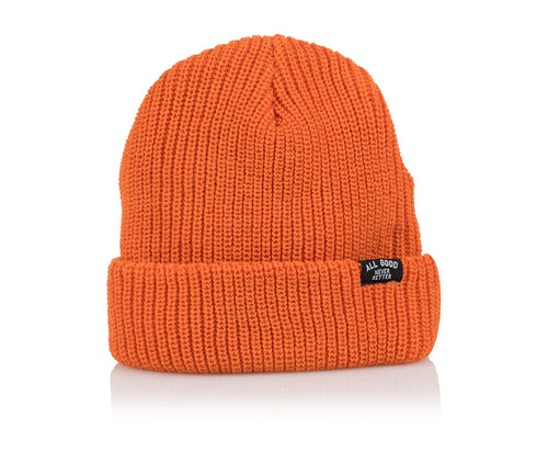 AGNB EVERYDAY BEANIE - ORANGE