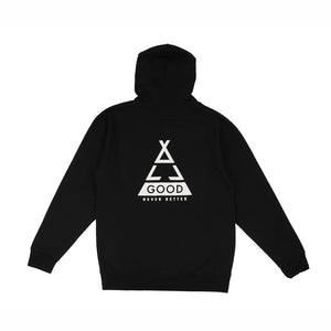 ALL GOOD TENTO LINES ZIP UP - BLACK
