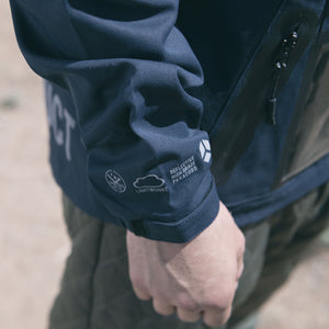 ACCLIMATE BAY ANORAK - DARK NAVY