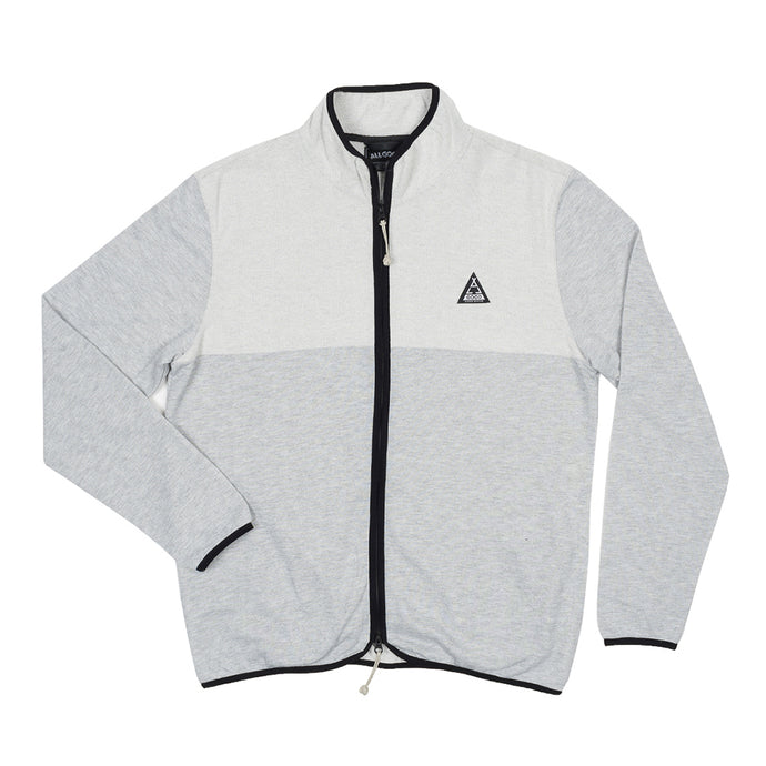 ATH HEATHER ZIP UP - ATH GRY
