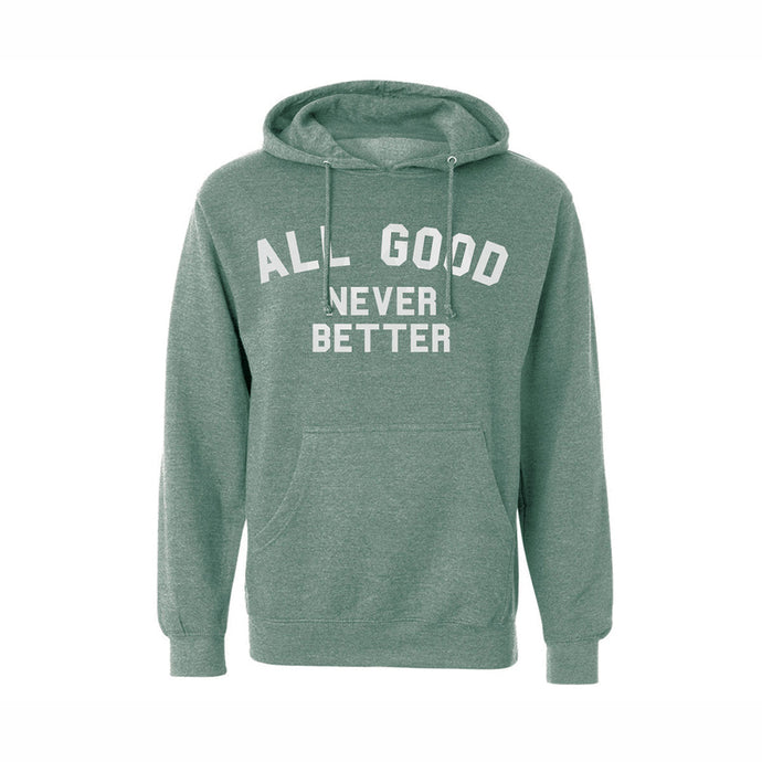 ALL GOOD AGNB SAGE HOODIE - SAGE