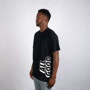 BW BLOCKBUSTER BACK TEE - BLACK