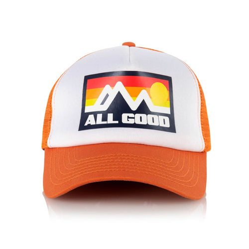 ALL GOOD HORIZON TRUCKER - ORANGE