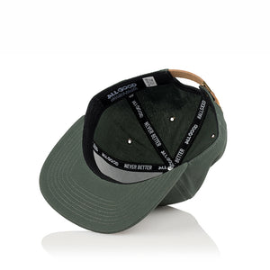 ALL GOOD TENTED STRAPBACK - OLIVE