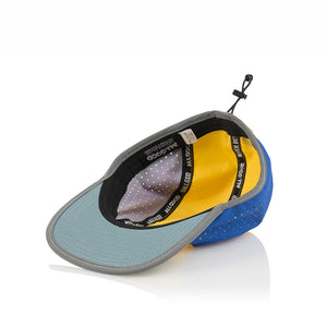 ALL GOOD TECH CAMPER - BLUE/YELLOW