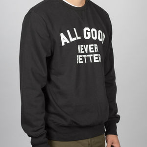 UPCYCLE AGNB CREWNECK - GRY/WHITE