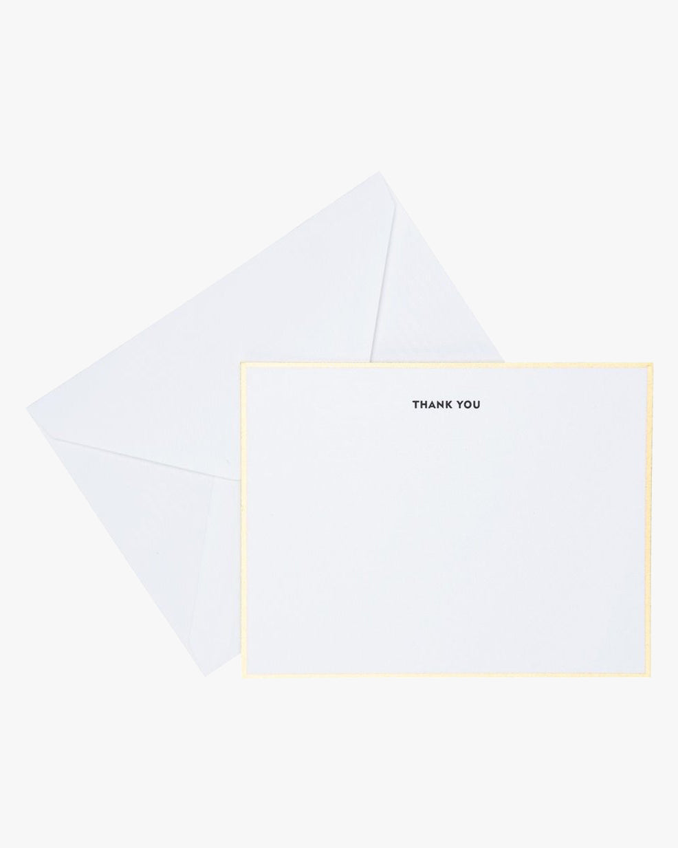 CLASSIC BLACK THANK YOU NOTE SET