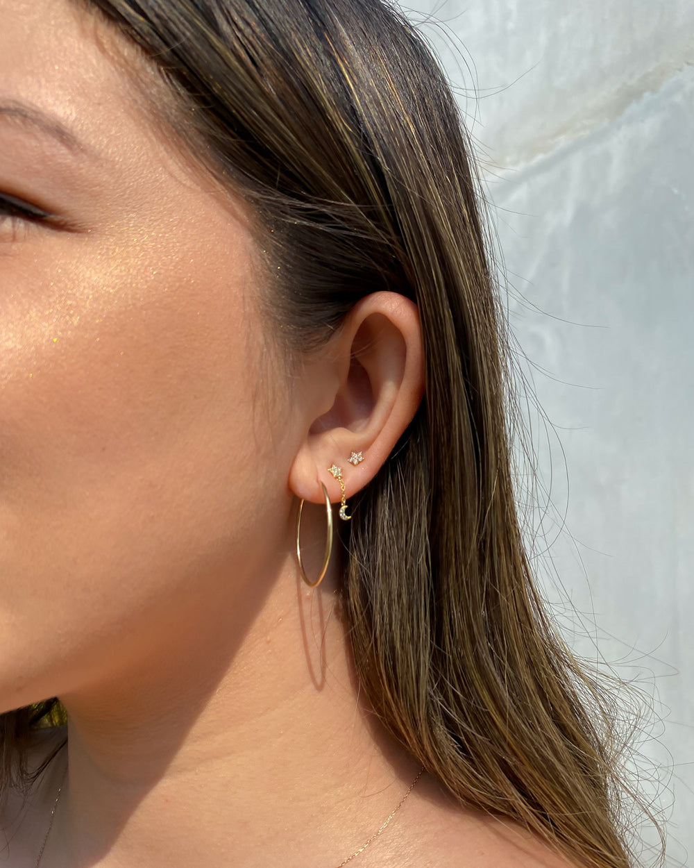 SALT CREEK 14K GOLD HOOPS